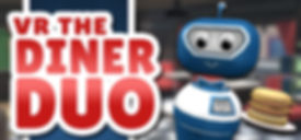 VR The Diner Duo logo by Whirlybird Games