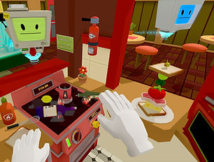 Job Simulator by Owlchemy Labs for the Oculus Quest