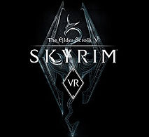 Skyrim VR logo by Bethesda Game Studios for PSVR