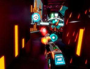 Beat Blaster by Ivanovich Games for the HTC Vive, Oculus Rift and PlayStation VR