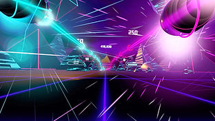 Synth Riders by Kluge Interactive for the Oculus Quest