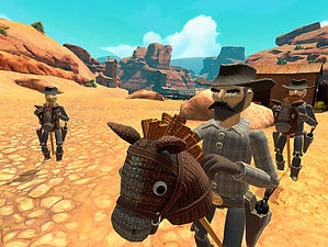 Hopalong: The Badlands by From the Future for the HTC Vive & Oculus Rift