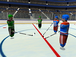 Pick-up League Hockey by Electric Falcon for the Oculus Quest App Lab platform