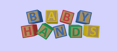 Baby Hands by Chicken Waffle logo