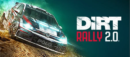 Dirt Rally 2.0 VR by Codemasters logo