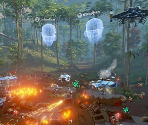 Landfall by Force Field for the Oculus Rift
