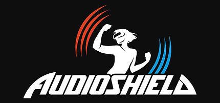 Audioshield by Dylan Fitterer logo