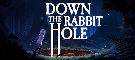 Down the Rabbit Hole by Cortopia Studios Logo