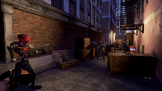 District Steel by Barricade Studio for the HTC Vive and Oculus Rift