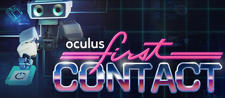 First Contact by Oculus logo