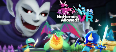 No Heroes Allowed! VR by Acquire and Japan Studio logo
