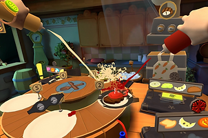 Cook-Out: The Sandwich Tale by Resolution Games for the Oculus Rift, HTC Vive, Valve Index and Windows Mixed-Reality Platforms
