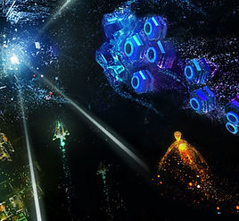 Rez Infinite by Enhance Games / Monstars for the Oculus Quest 2 and Oculus Quest platforms