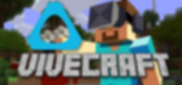 Vivecraft logo for HTC Vive and OpenVR