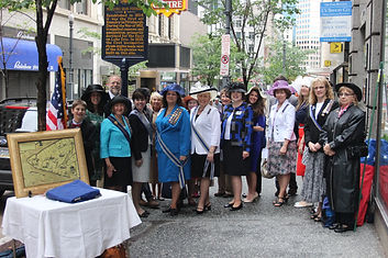 Historical Marker Dedication - Downtown Pittsburgh