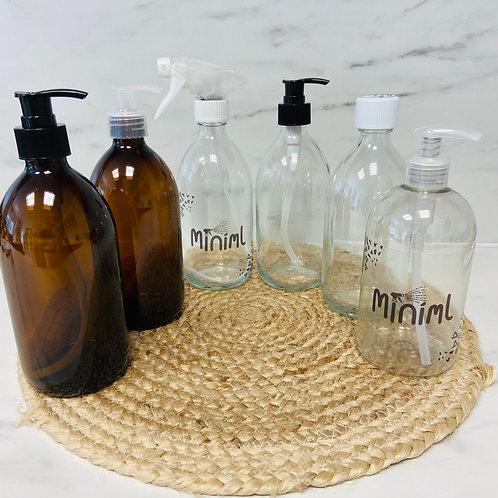 Reusable Bottle (cap/spray/pump)