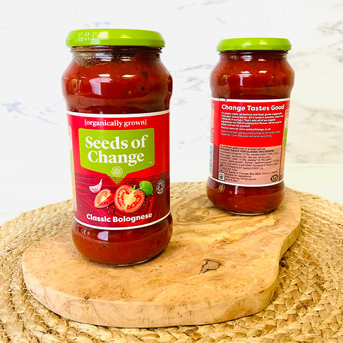 Seeds of Change Bolognese Pasta Sauce  (Organic, 500g)