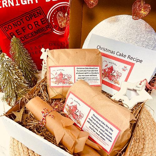 GM Christmas Cake Box - Make your own