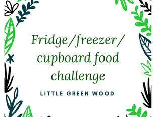 The Fridge/Freezer challenge