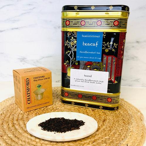 GM Teacaff - Tealicious Decaffeinated Tea (100g)