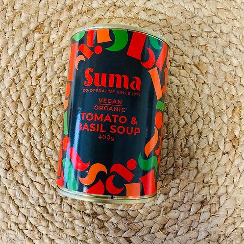 Suma Tomato and Basil Soup (Vegan Organic, 400g)