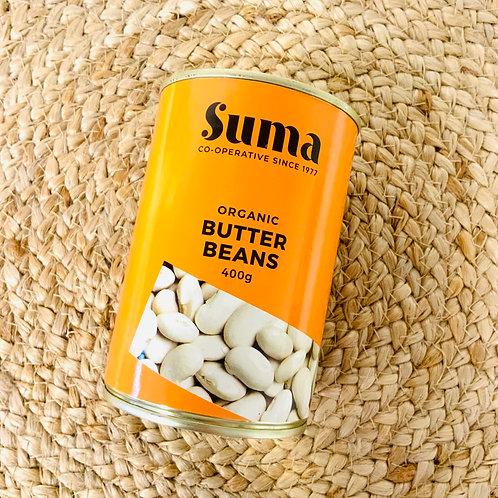 Suma Butter Beans (Organic, 400g)