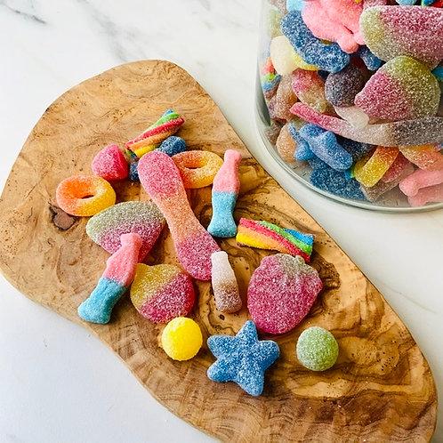 Sweets Pick & Mix, Fizzy (Vegan, 100g)