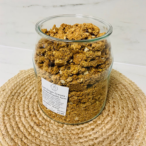 Just Ginger Granola - Yockenthwaite Farm (100g)