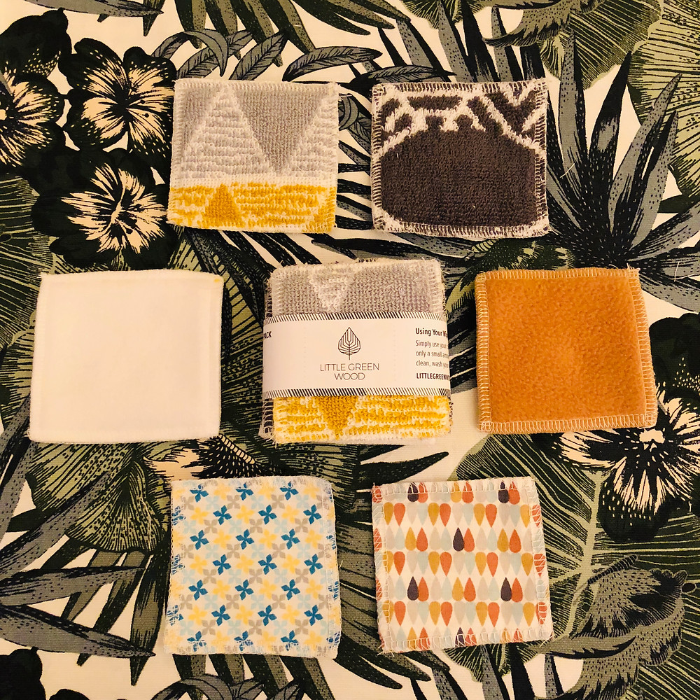 Little Green Wood Re-useable wipes sample pack