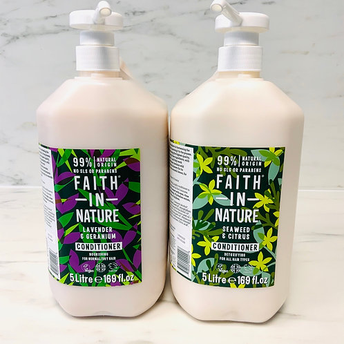 Faith In Nature - Hair Conditioner (various scents) refills per 50ml