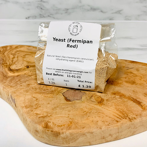 Yeast (Fermipan Red, 100g)