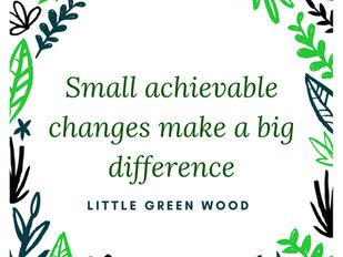 Small changes to make a big difference