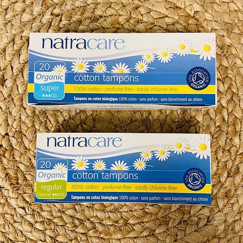 Natracare - Organic Cotton Tampons (20pack, Regular/Super)