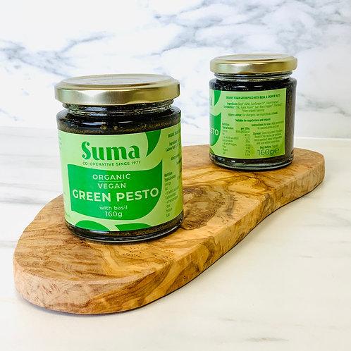 Suma Green Pesto (Vegan, Organic, 160g)