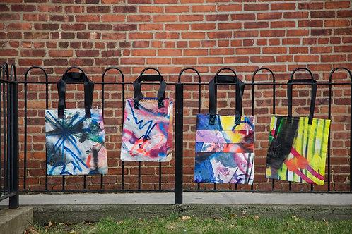 """Concourse House Graffiti Bag"" (2020)"