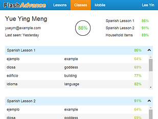 Language Teaching with FlashAdvance