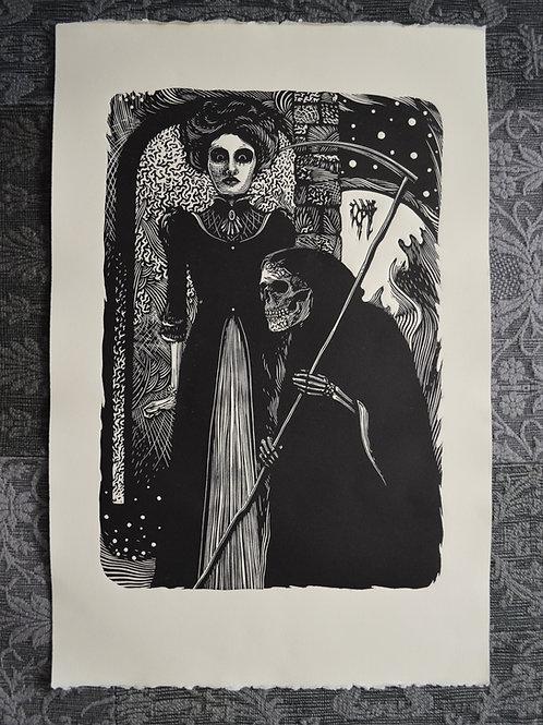 Dama e a morte