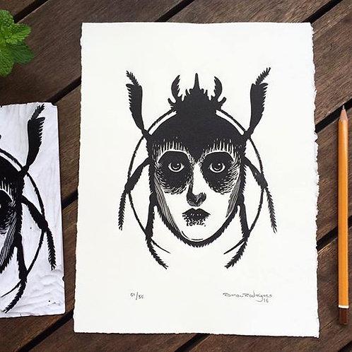 Escaravelho/mulher