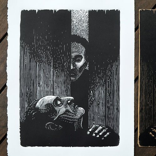 O coração delator (Tell tale heart) - Edgar A. Poe