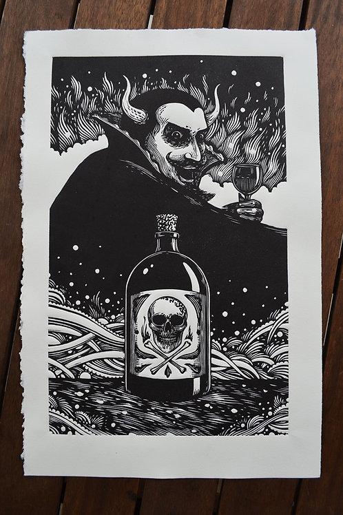 Diabo e o veneno