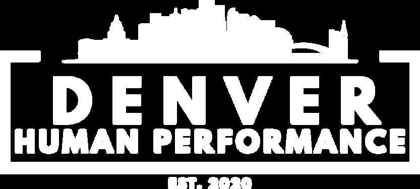 Denver Human Performance Logo White.png