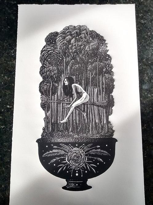 A bruxa e o vaso