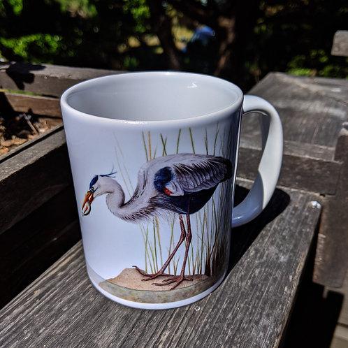 Great Blue Heron Cup
