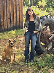 Steph and Tractor-Dig Deep wow..jpg