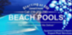 Service Plans Logo and Phone Number│Beach Pools Inc