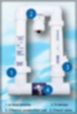Auto Pilot Digital Nano salt cell│Beach Pools Inc