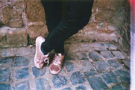 Scarpette di velluto