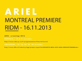 Ariel Screening 2013