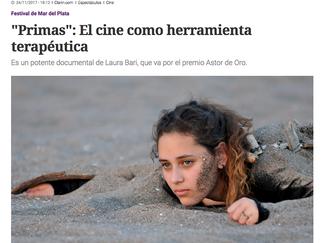 """""""Primas"""": El cine como herramienta terapéutica"""