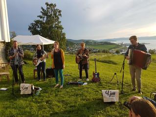 Konsert med Ljom  10. august